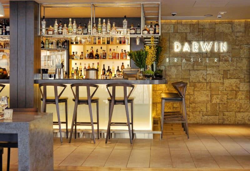 Darwin Brasserie bar area