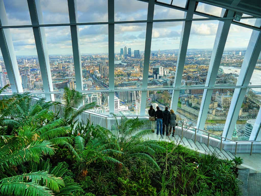 First Look At The Sky Garden London Landmark Luxury