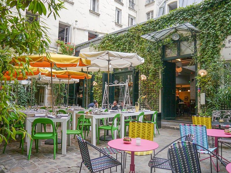 Andy Wahloo Bar in Le Marais, Paris, France