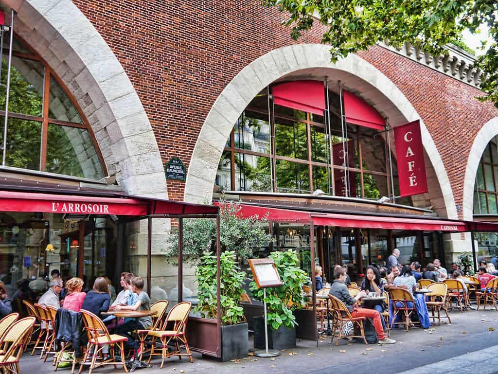 L'Arrosoir, Paris - a good place to eat if walking the Promenade Plantee