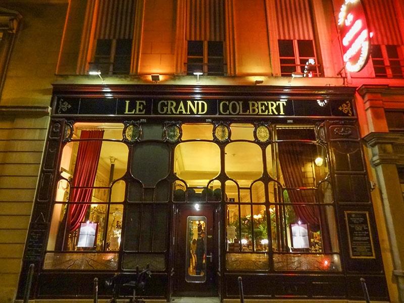 Le Grand Colbert, a famous Paris restaurant