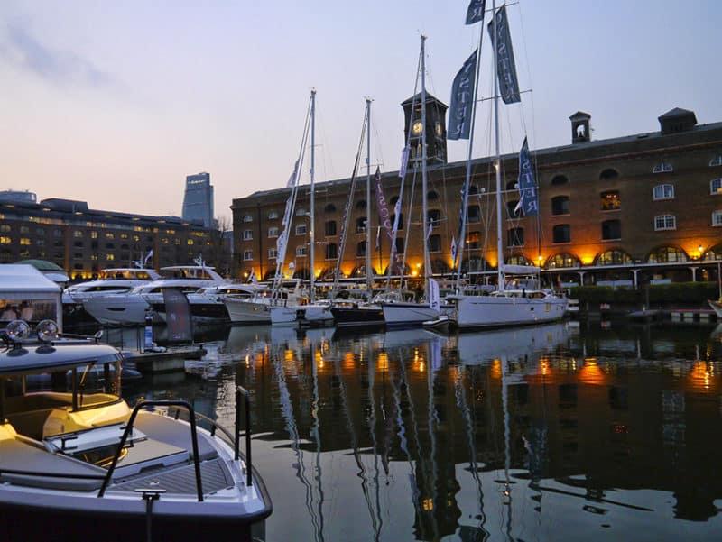 London Yacht Jet Prestige Car Show