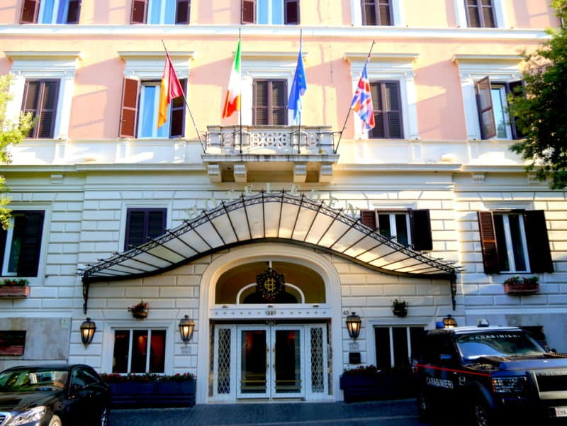 Hotel Eden Rome Italy A Luxurious Stay In The Heart Of Rome