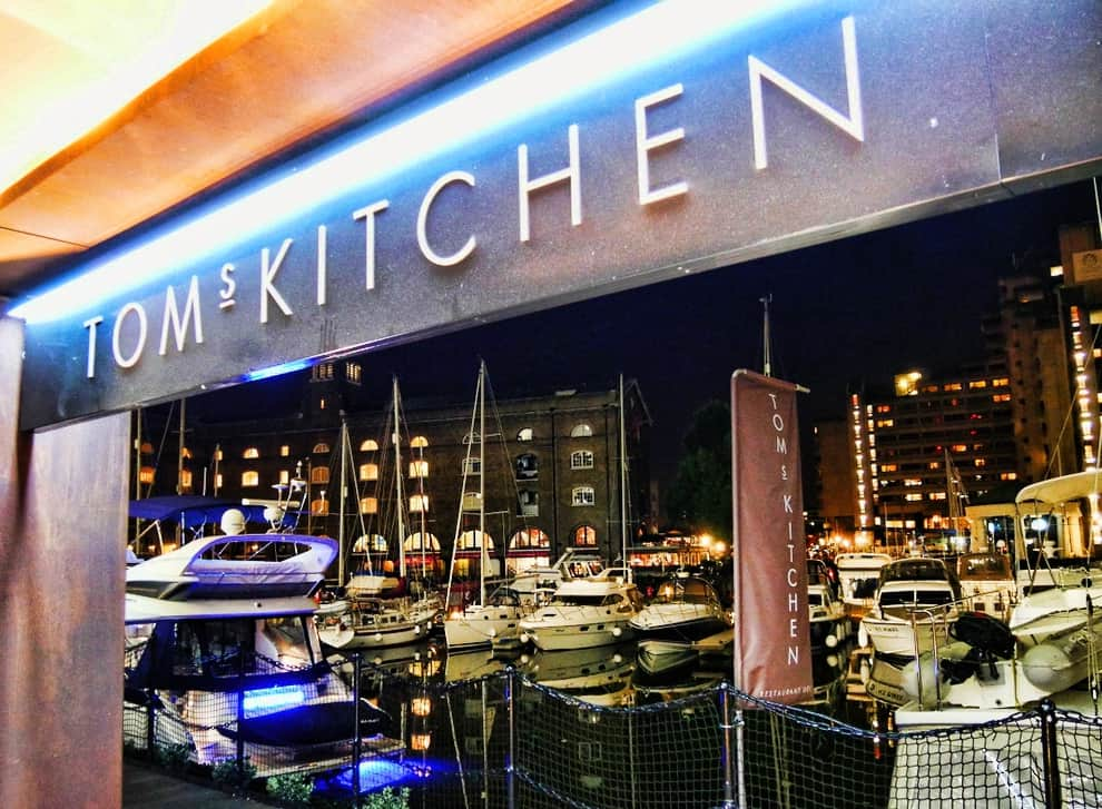 Tom Kitchen Menu St Katherines Dock