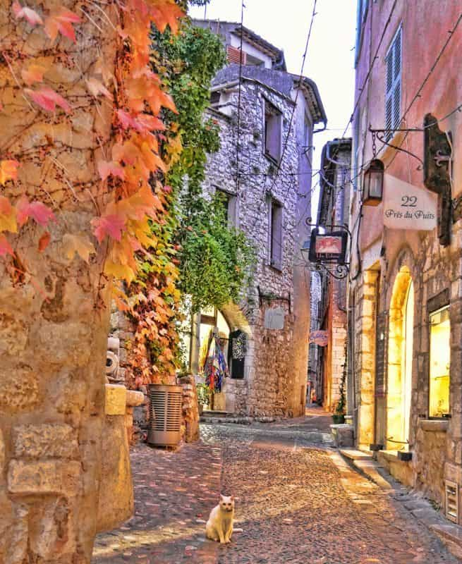 Great towns on the French Rviera