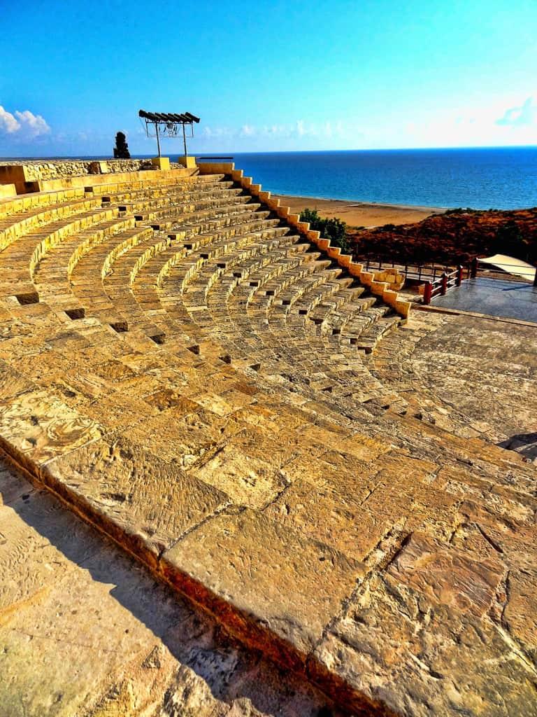Cyprus famous landmarks - Kourion archaeological site
