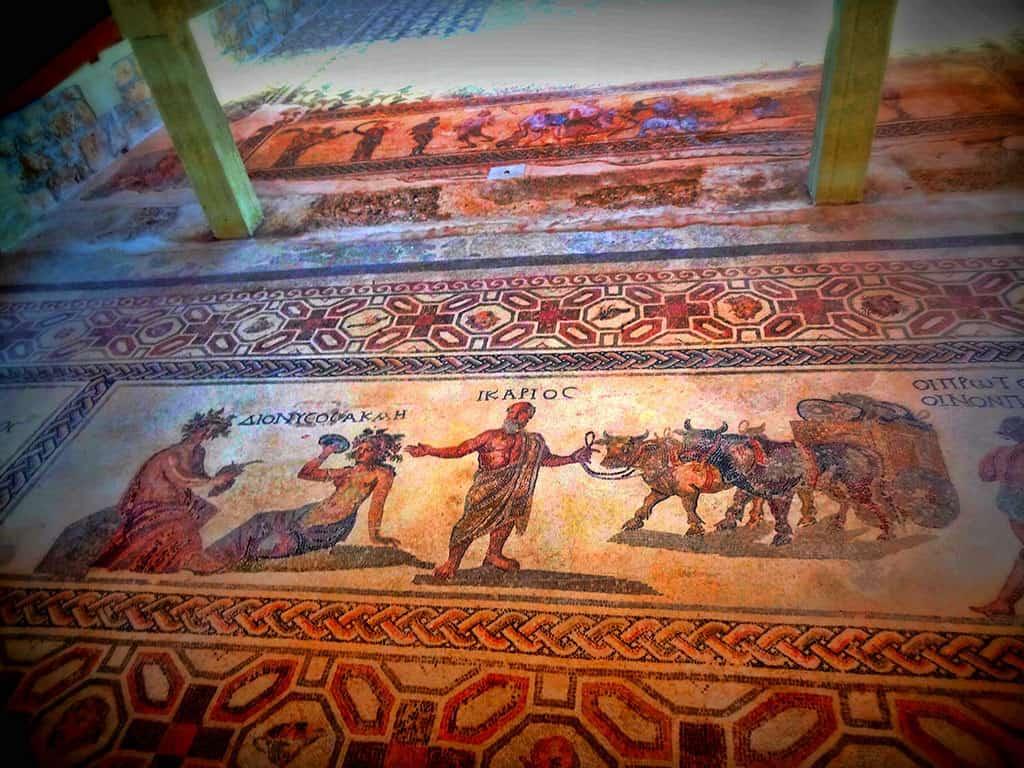 Landmarks in Cyprus - House of Dionysus