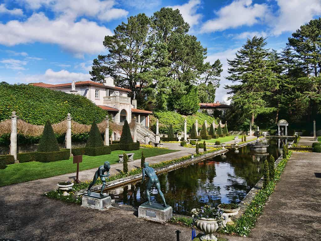 Italiante Gardens At Compton Acres