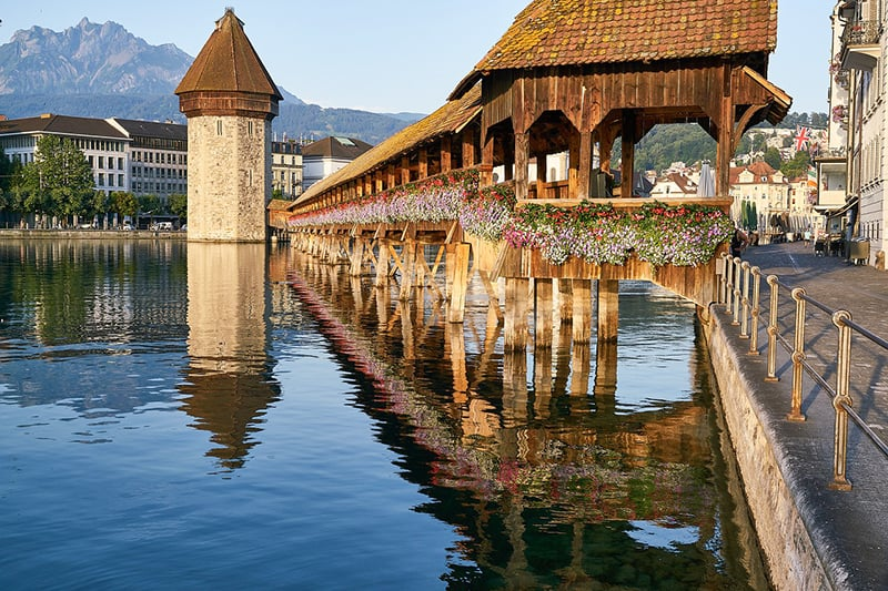 BEAUTIFUL TOWNS IN SWITZERLAND