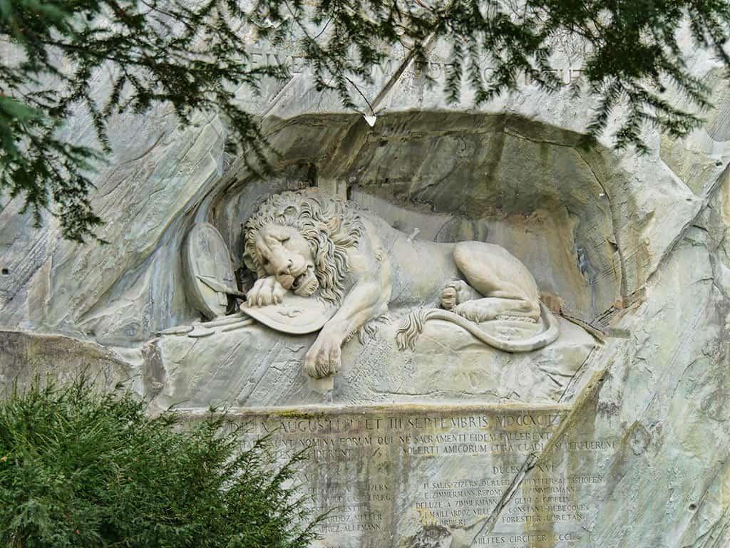 The Lion Monument Lucerne