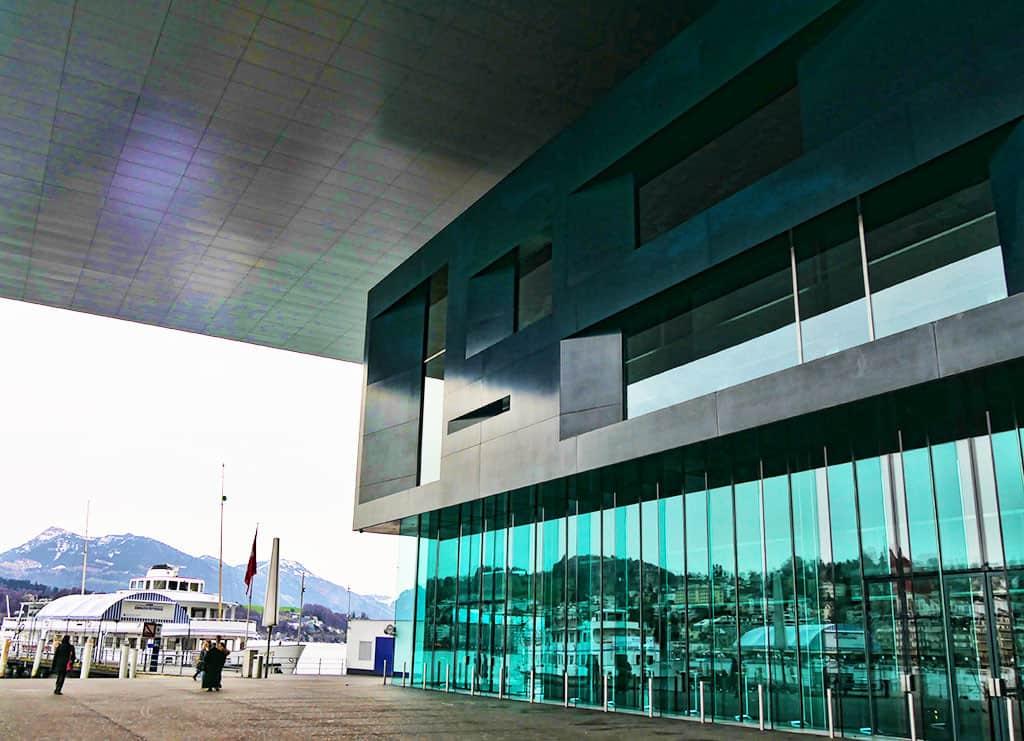 KKL Luzern modern art museum
