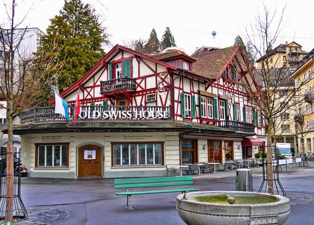 The Old Swiss House Luzern restaurant