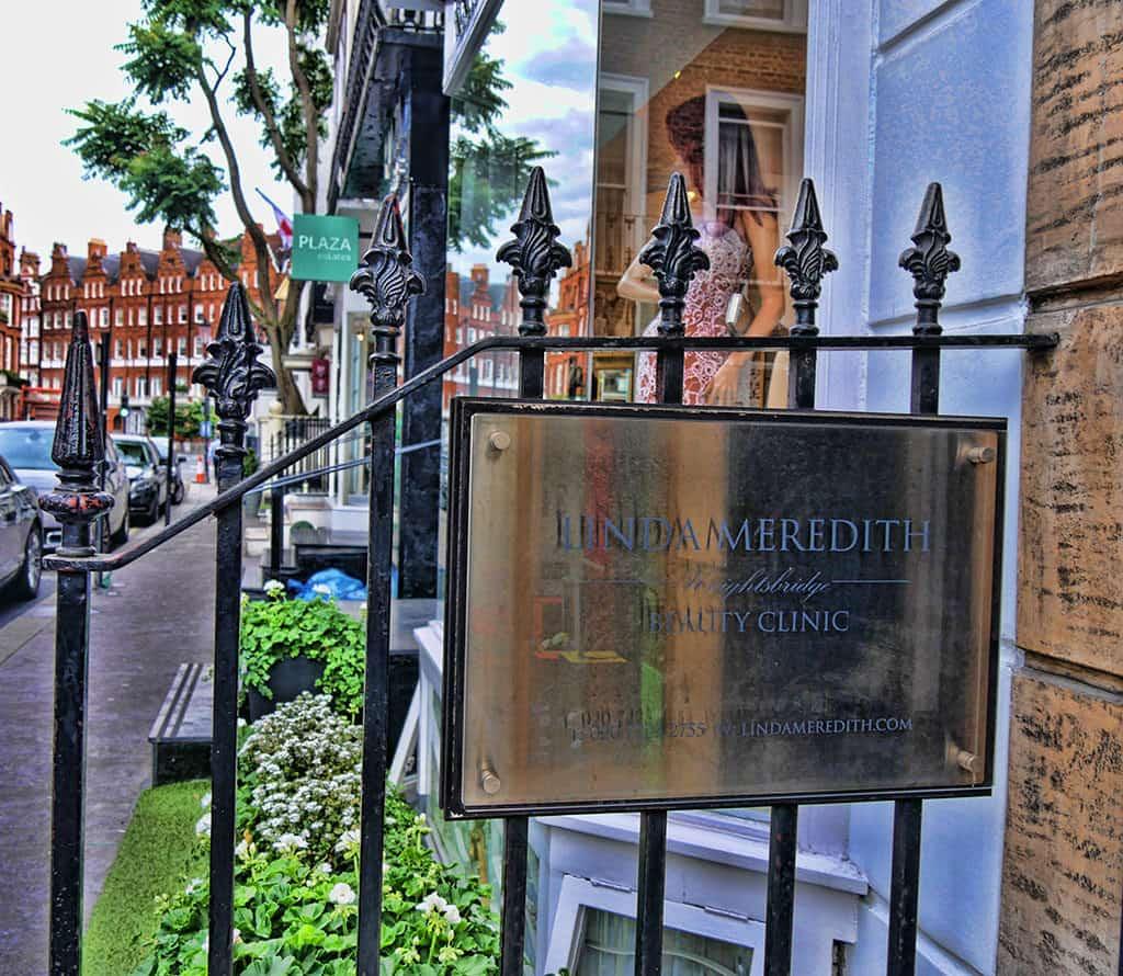 Linda Meredith skincare clinic in Knightsbridge, London