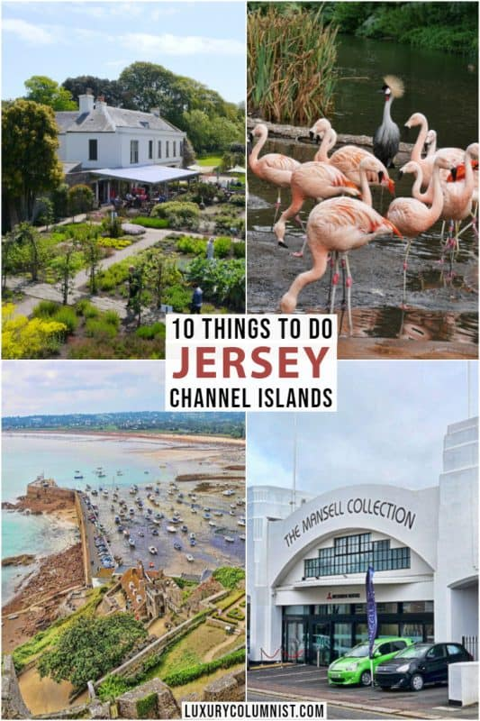 10 Things to Do in Jersey Channel Islands including The Mansell Collection and the Jersey War Tunnels | Europe Travel | #Jersey | #ChannelIslands | #Europe | #TravelTips