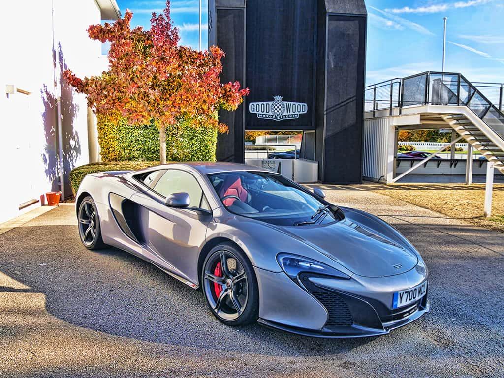An Exclusive McLaren Racing Day at Goodwood