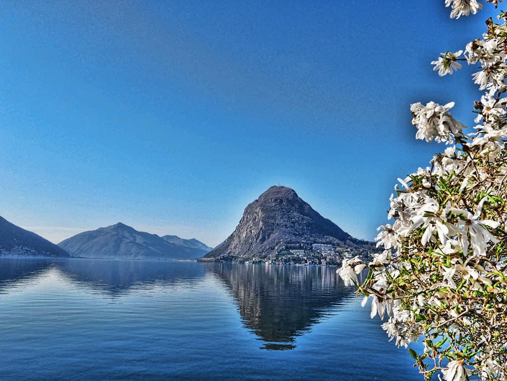 Lake Lugano, Ticino, Switzerland