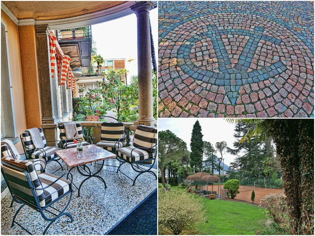 Villa Castagnola grounds