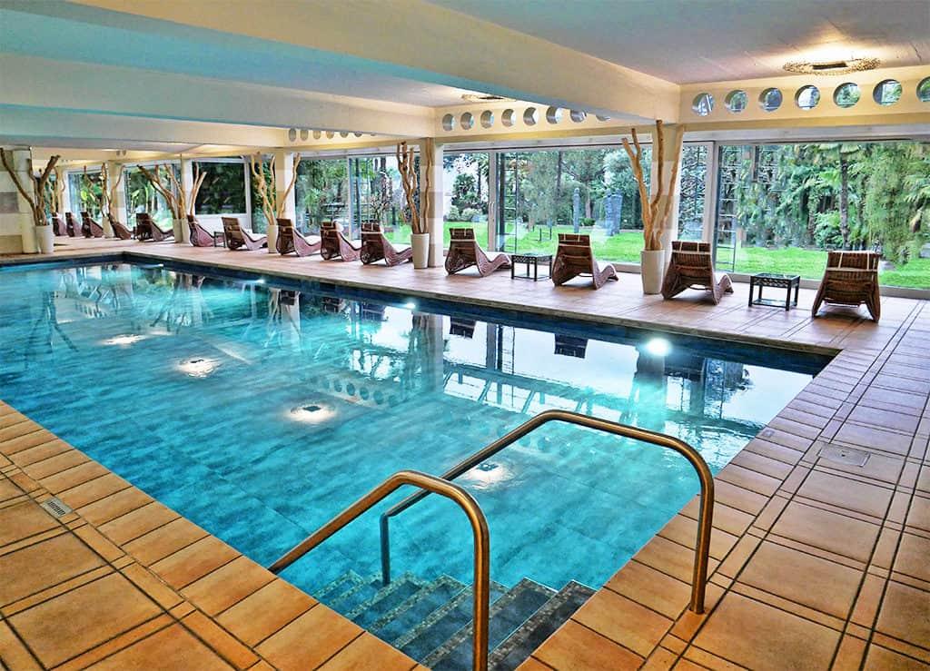 Villa Castagnola pool