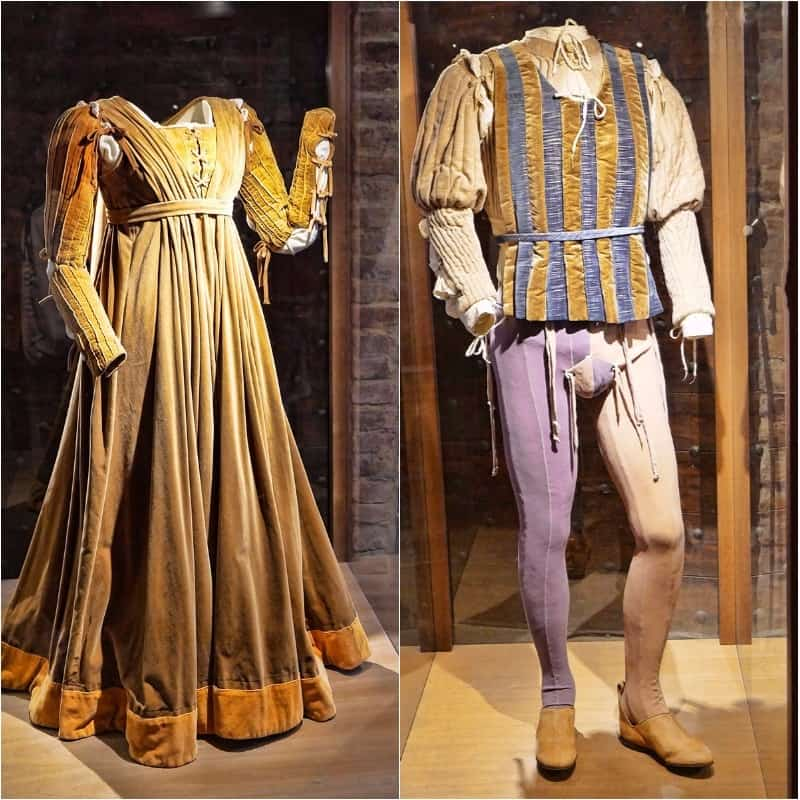 costumes from the film Romeo and Juliet