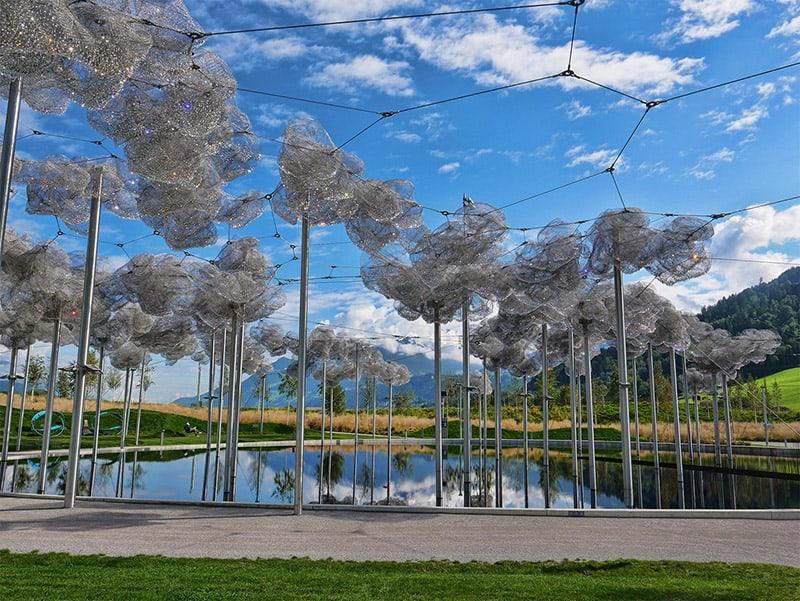 Crystal Cloud at Swarovski Crystal World, Austria