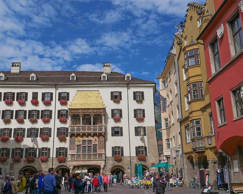 The Golden Roof in Innsbruck, Austria