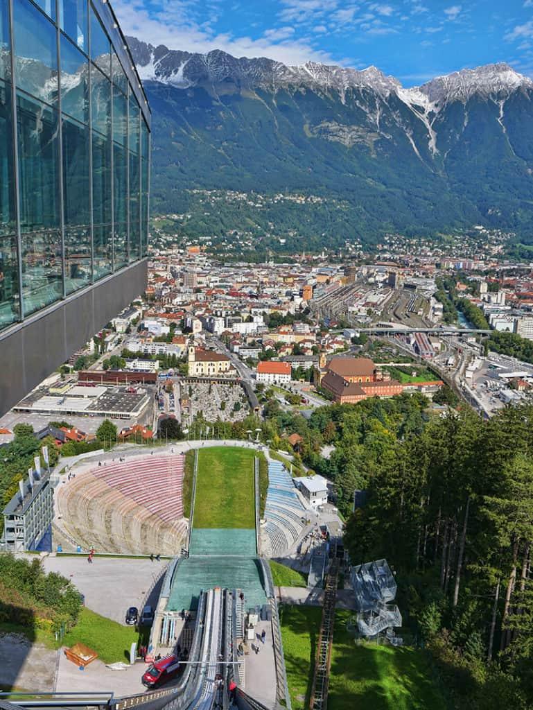 Bergisel ski jump - fun things to do in Innsbruck, Austria