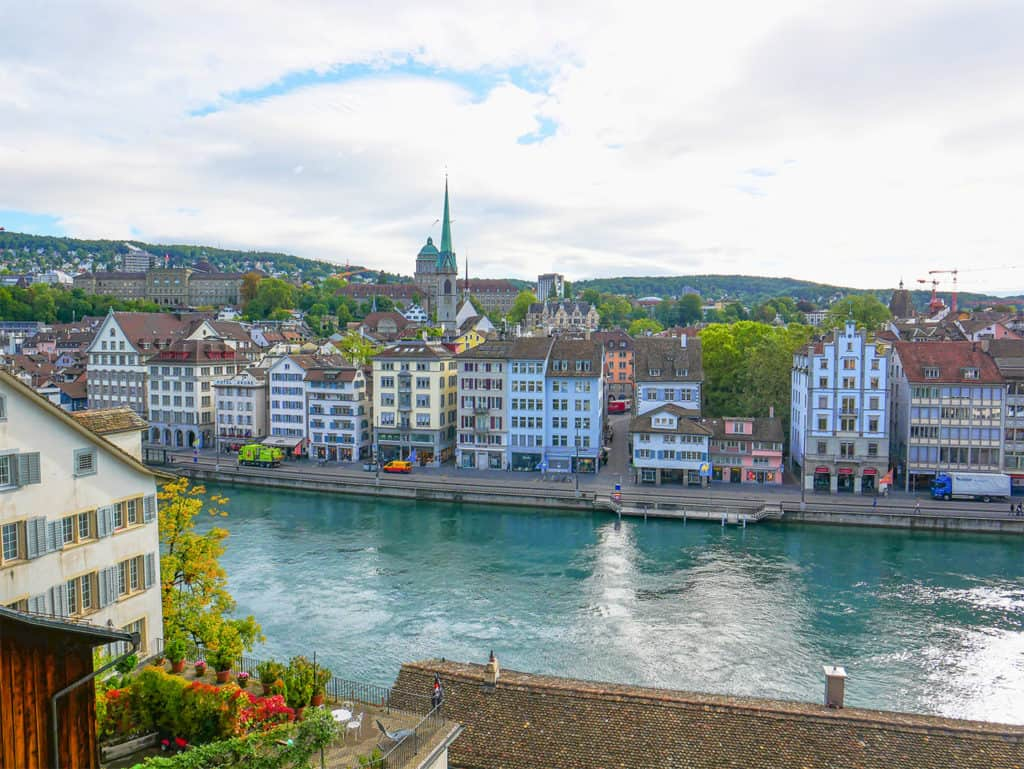 Zurich is one of the most beautiful places in Switzerland
