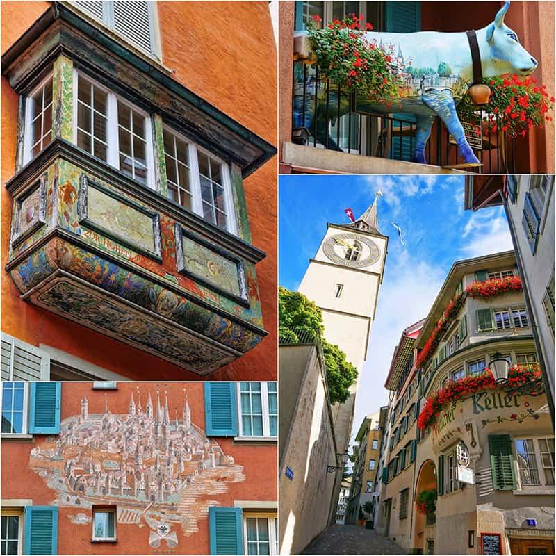 Tour of Zurich Altsadt in Switzerland - read on luxurycolumnist.com