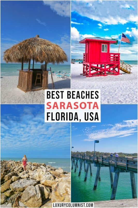 Guide To Sarasota Beaches: 5 Best Beaches In Sarasota, Florida You Shouldn't Miss