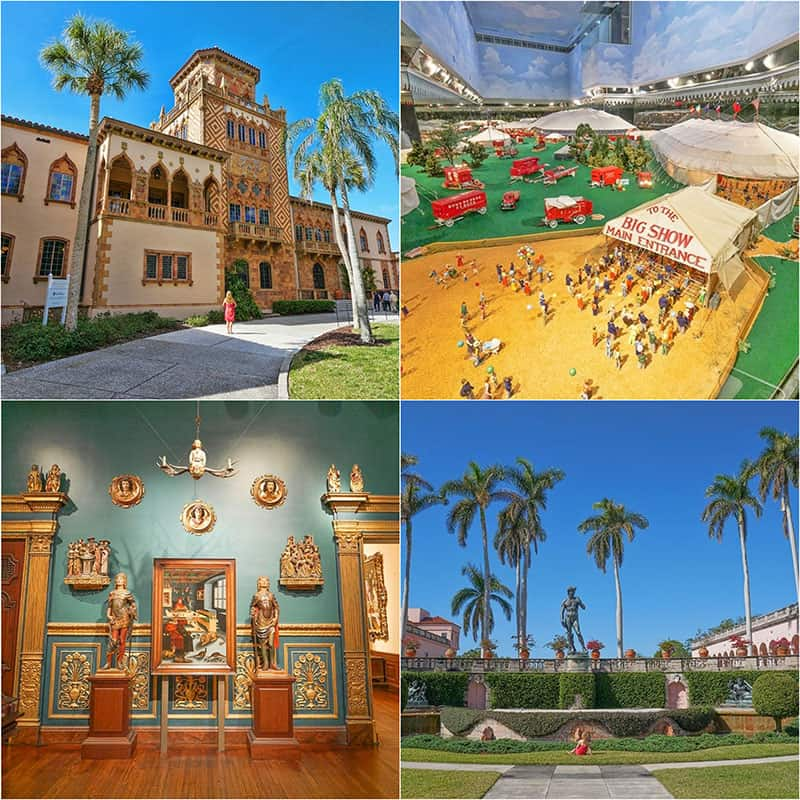 The Ringling Museum in Sarasota, Florida