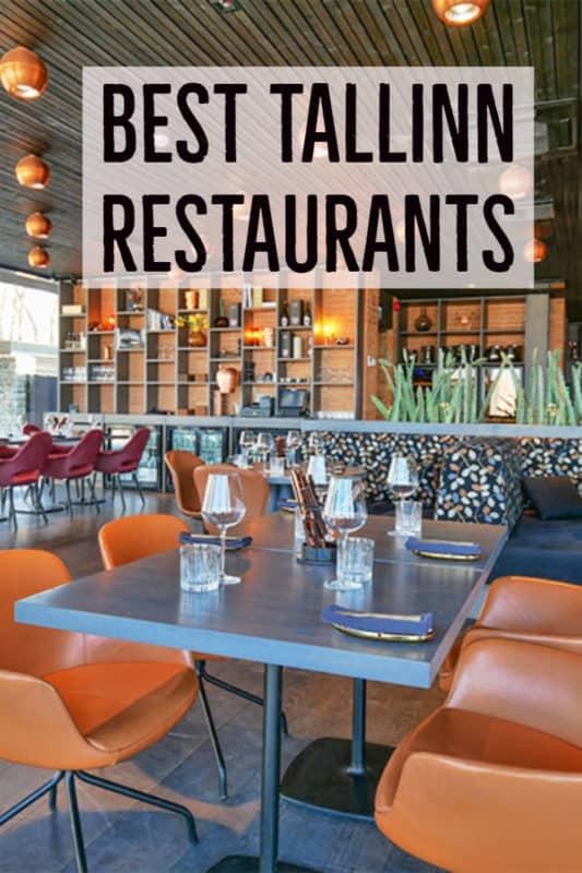 Best Restaurants in Tallinn Estonia | #estonia