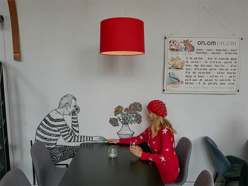 Frenchy in Kalamaja, Tallinn, Estonia