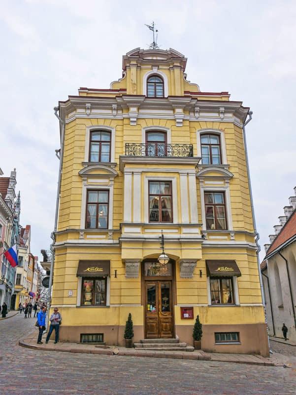Maisamokk, the oldest cafe in Tallinn and Estonia