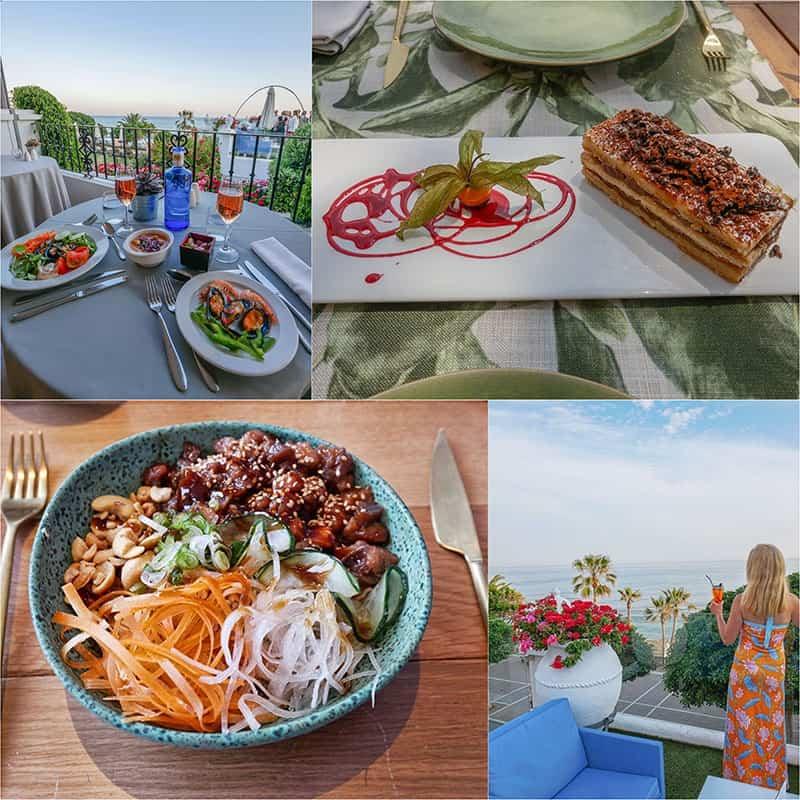 Fuerte Hotel Marbella has some great restaurants