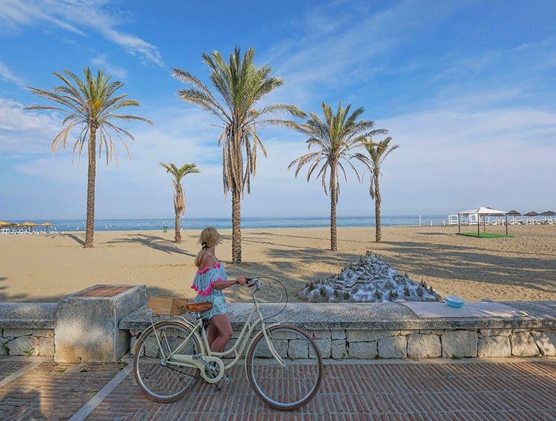 Marbella bike ride Puerto Banus