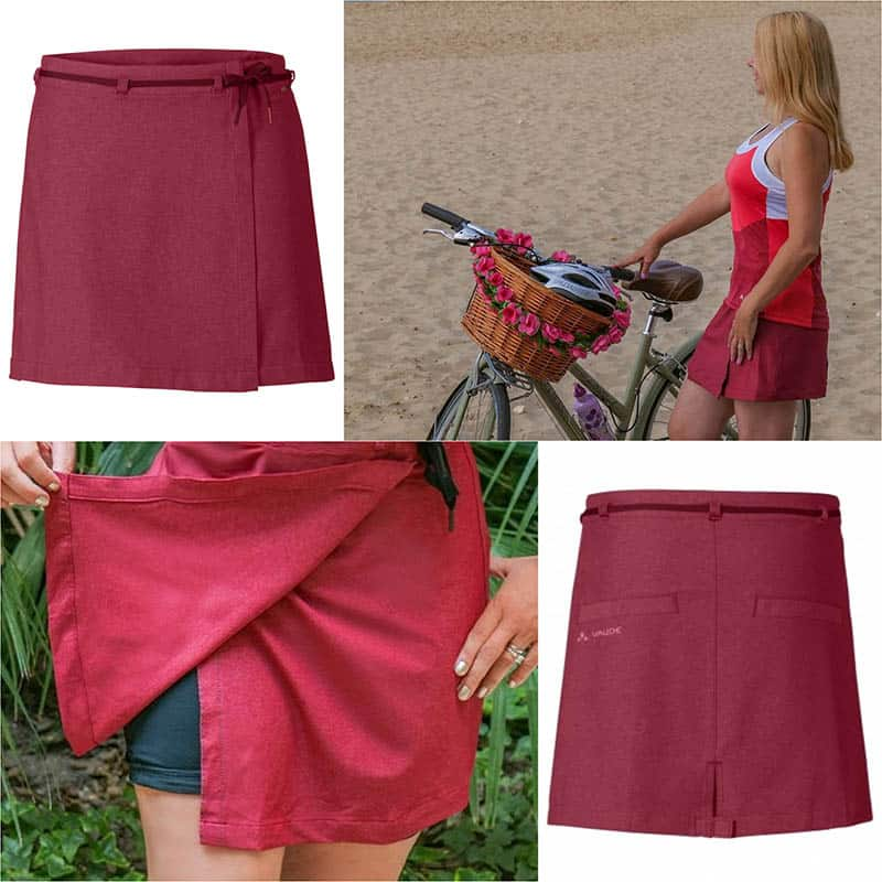 Women's cycling kit with women's skirts that look great