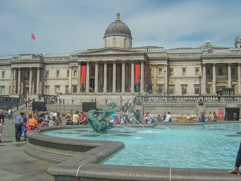 The National Gallery, London does great virtual art museum tours