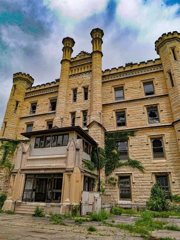 Old Joliet Prison on Route 66, Illinois