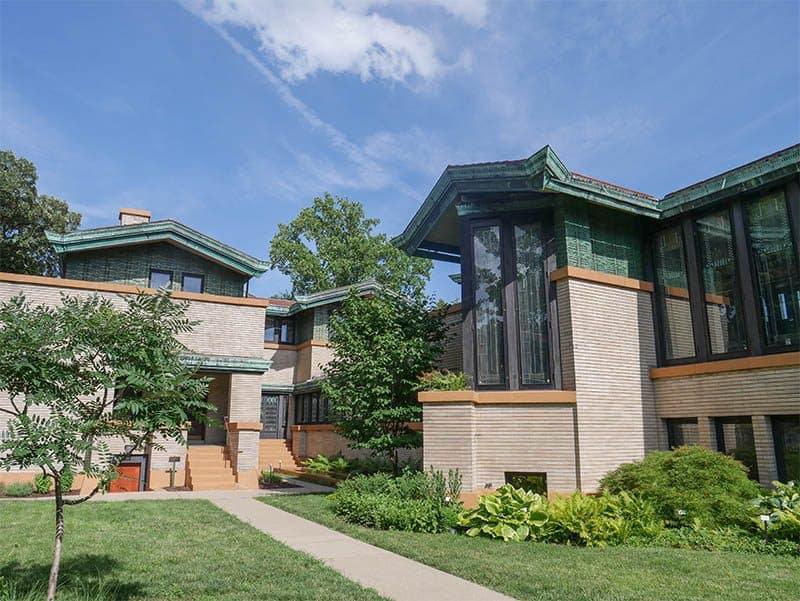 Dana House, designed by Frank Lloyd Wright, Springfield, Illinois