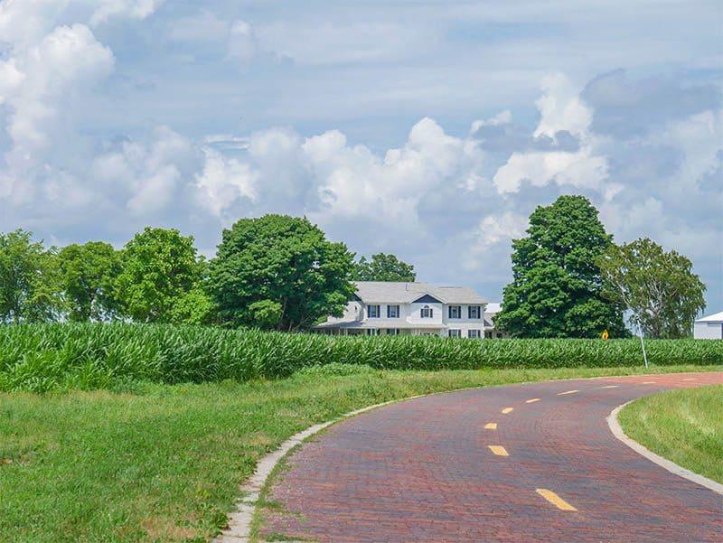 Historic Route 66, Auburn, Illinois