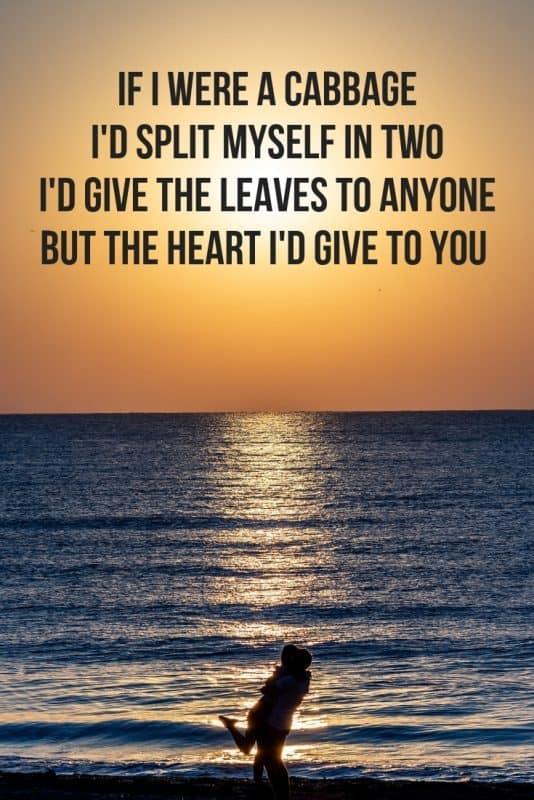 Valentines verses for him