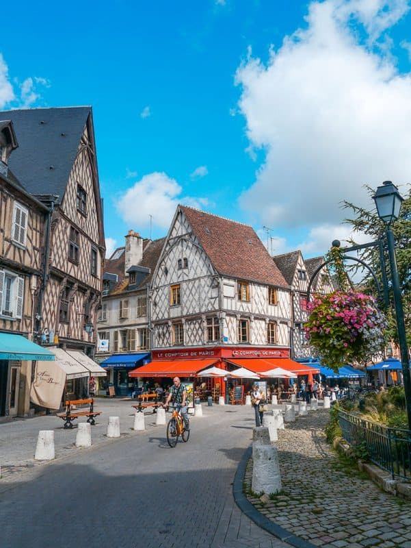 Bourges France Old Town