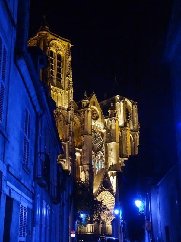 Les Nuits Bleues de Bourges France