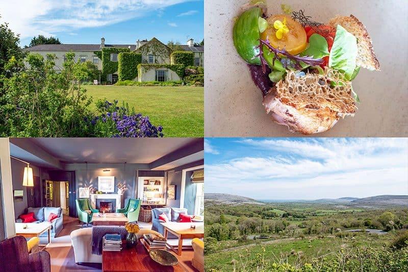Gregans Castle was awarded Best Hotel in Ireland 2019