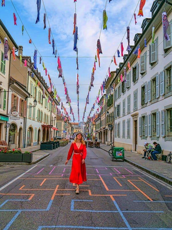 Carouge Old Town, Geneva, Switzerland