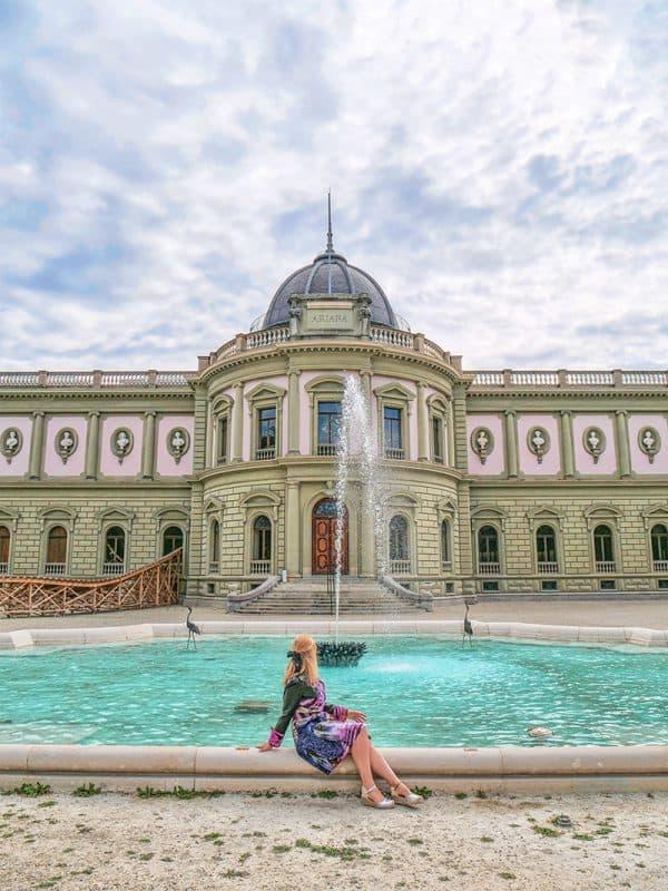 Musee Ariana, Geneva, Switzerland