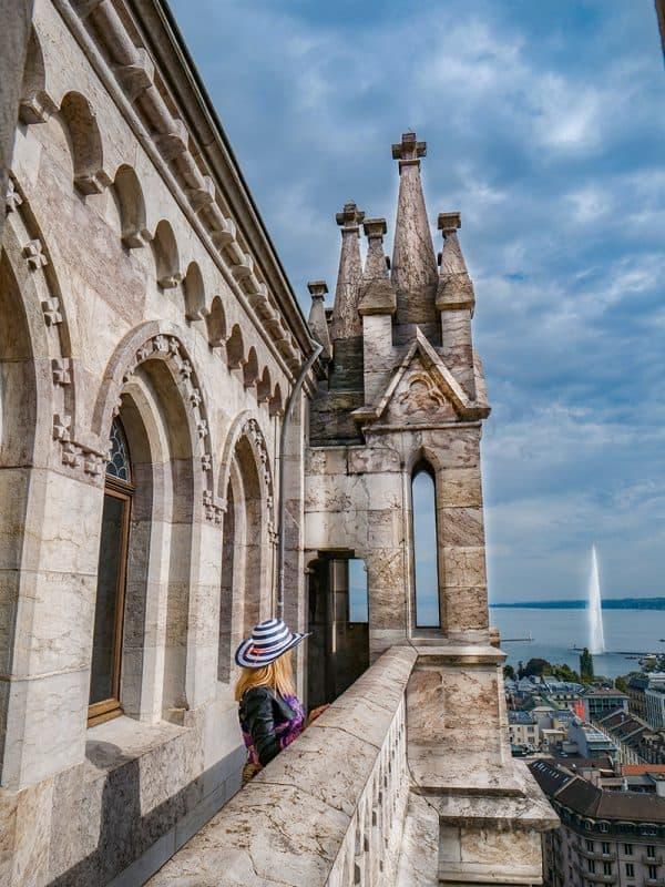 St Pierre Cathedral, Geneva, Switzerland