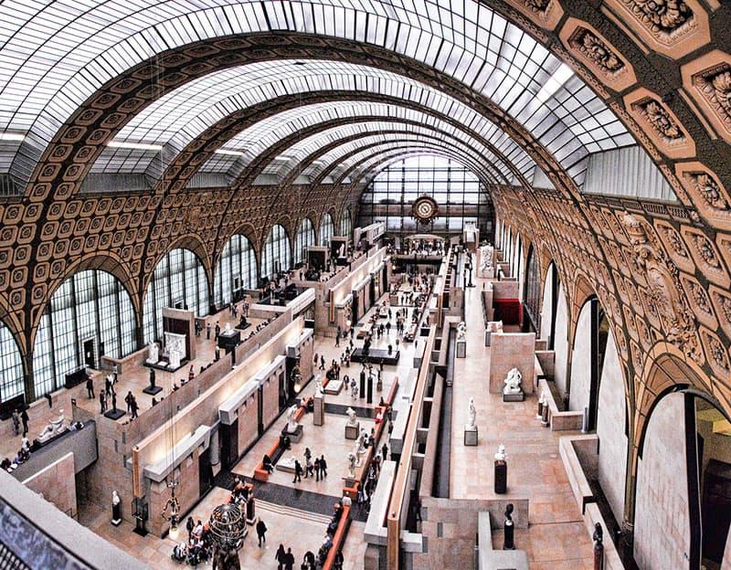 Musee d'Orsay virtual tour, Paris, France