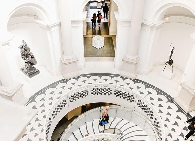 A virtual tour of Tate Britain, London, UK