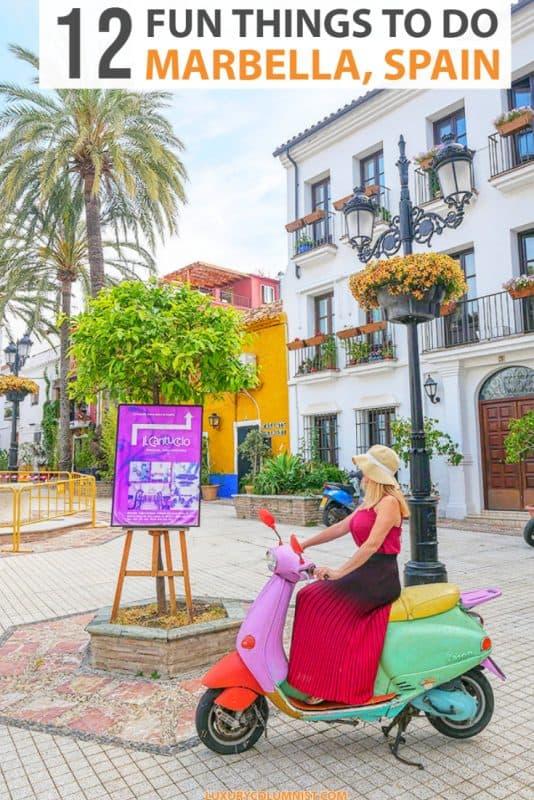 Fun Things to Do in Marbella Spain | Best Marbella Beaches, Restaurants and Hidden Gems | #marbella | #spain | #EuropeTravel | #TravelTips